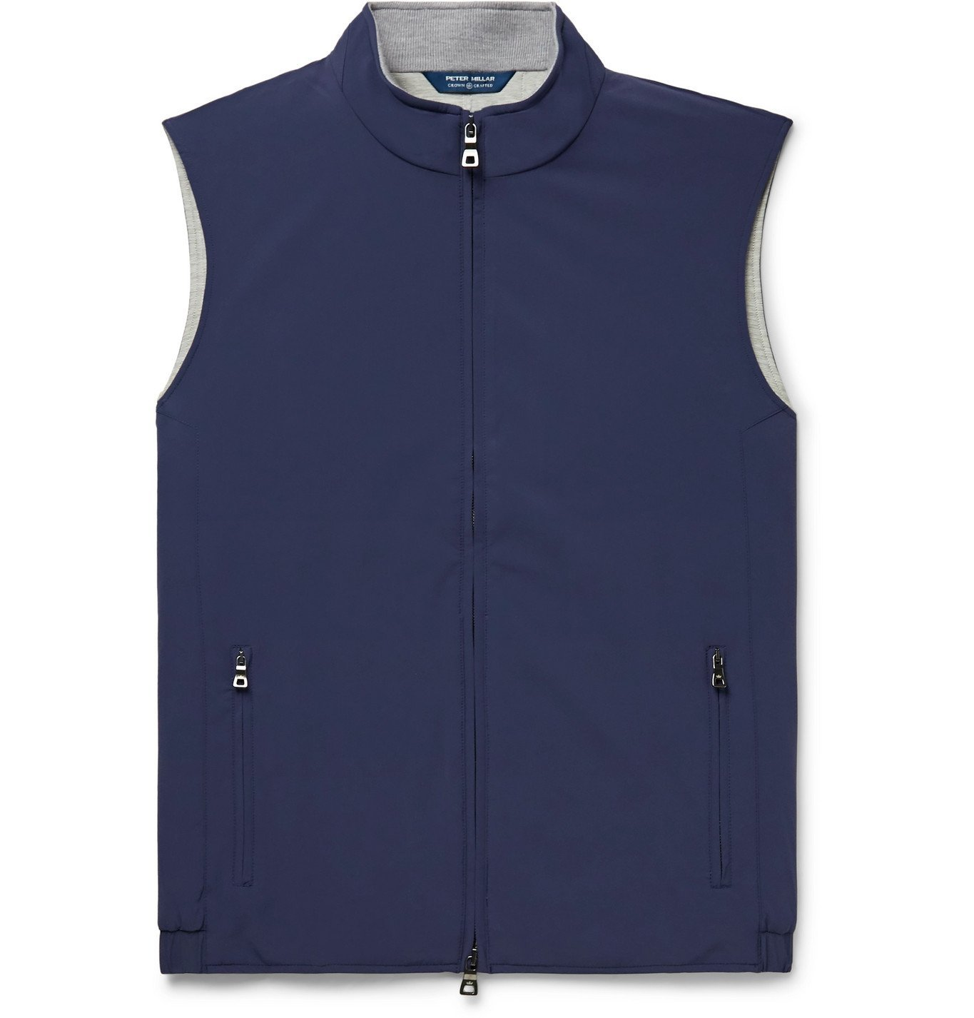 Photo: Peter Millar - Stealth Padded Shell Gilet - Blue