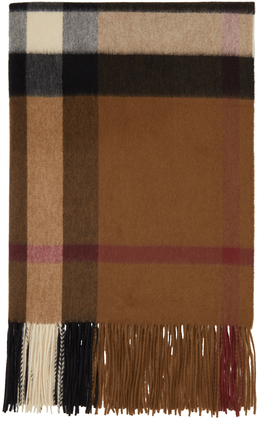 Photo: Burberry Cashmere Oversized Check Scarf