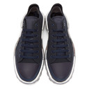 Raf Simons Navy and Grey adidas Originals Edition RS Detroit Runner Sneakers