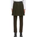 Sacai Khaki Panel Trousers