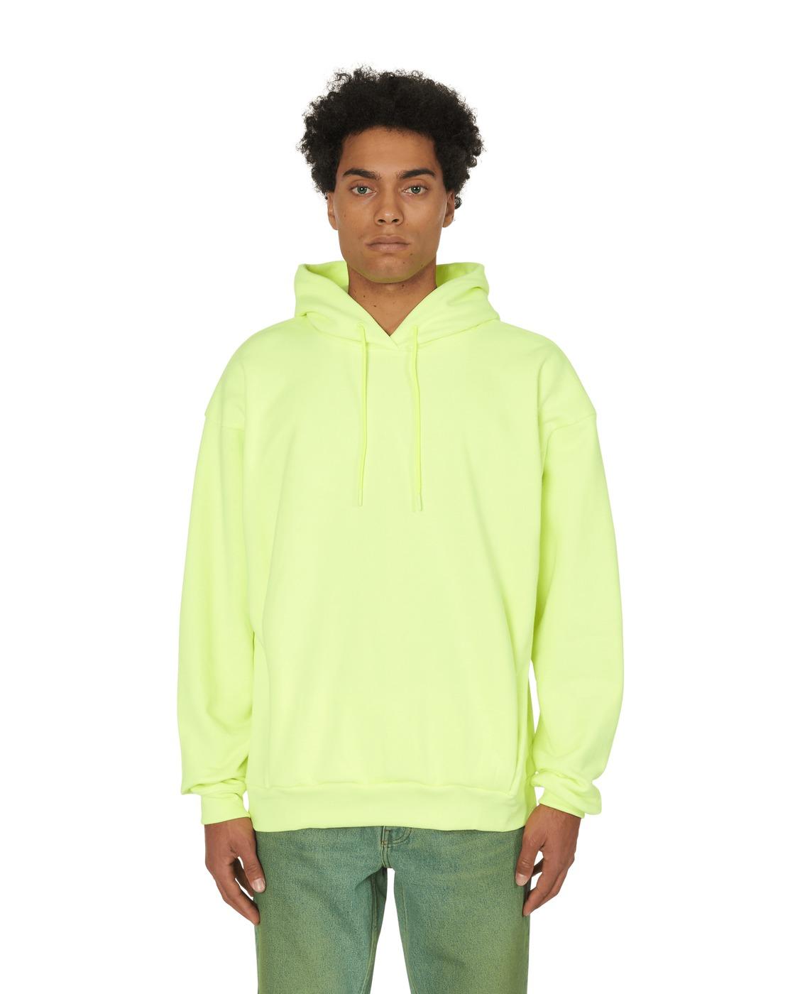 Martine Rose Classic Hooded Sweatshirt Fluoro