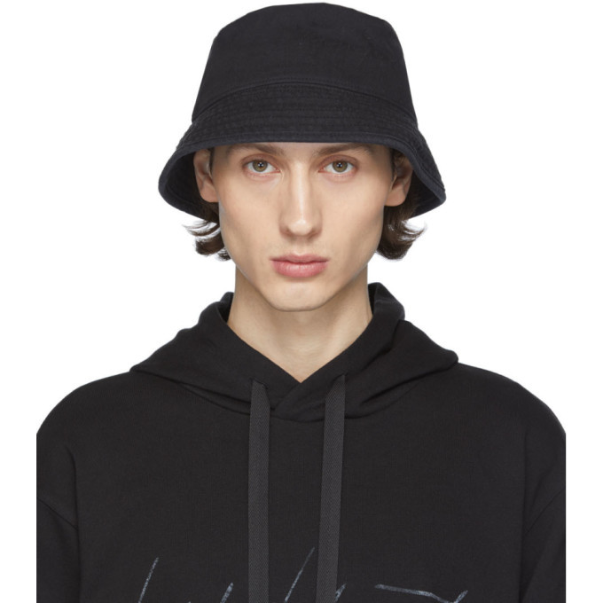 Photo: Y-3 Black Logo Bucket Hat