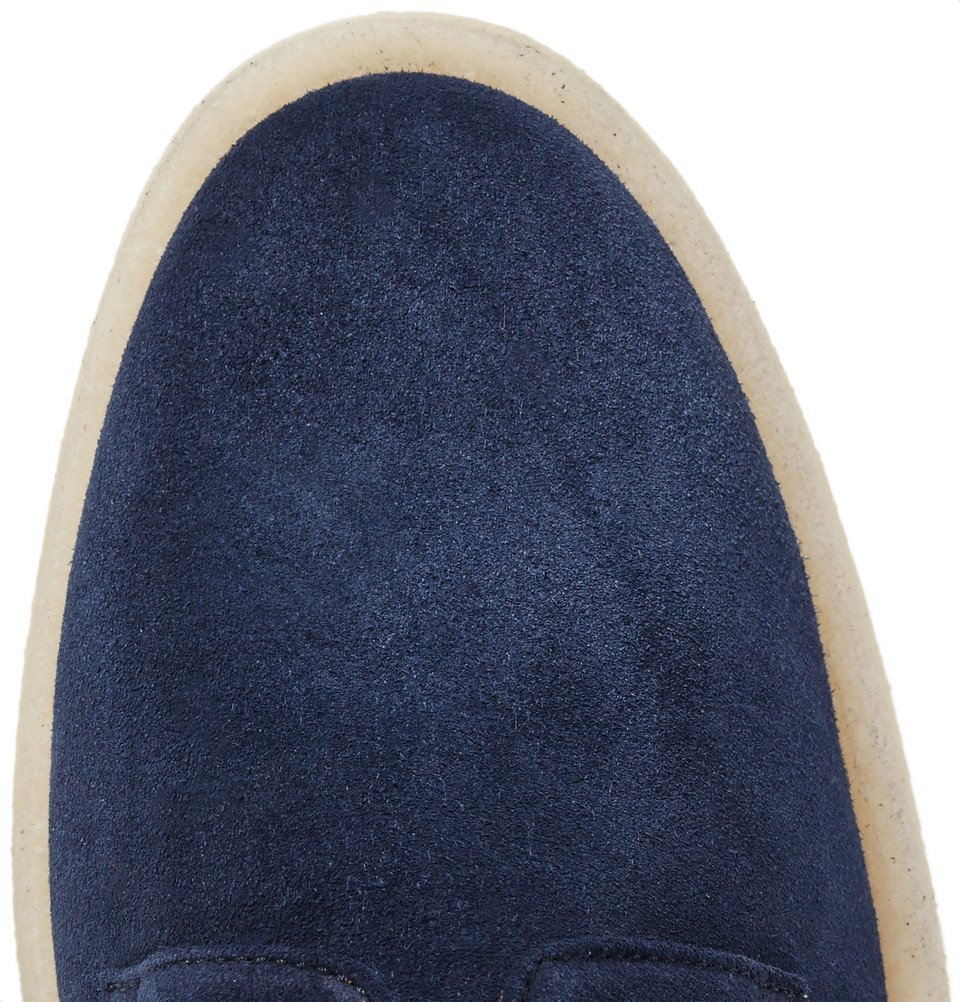 Common Projects - Cadet Suede Derby Shoes - Navy