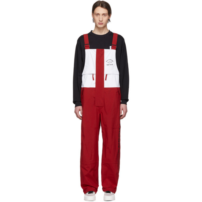 Photo: LQQK Studio for Paul and Shark Red and White Typhoon 20000 Overalls
