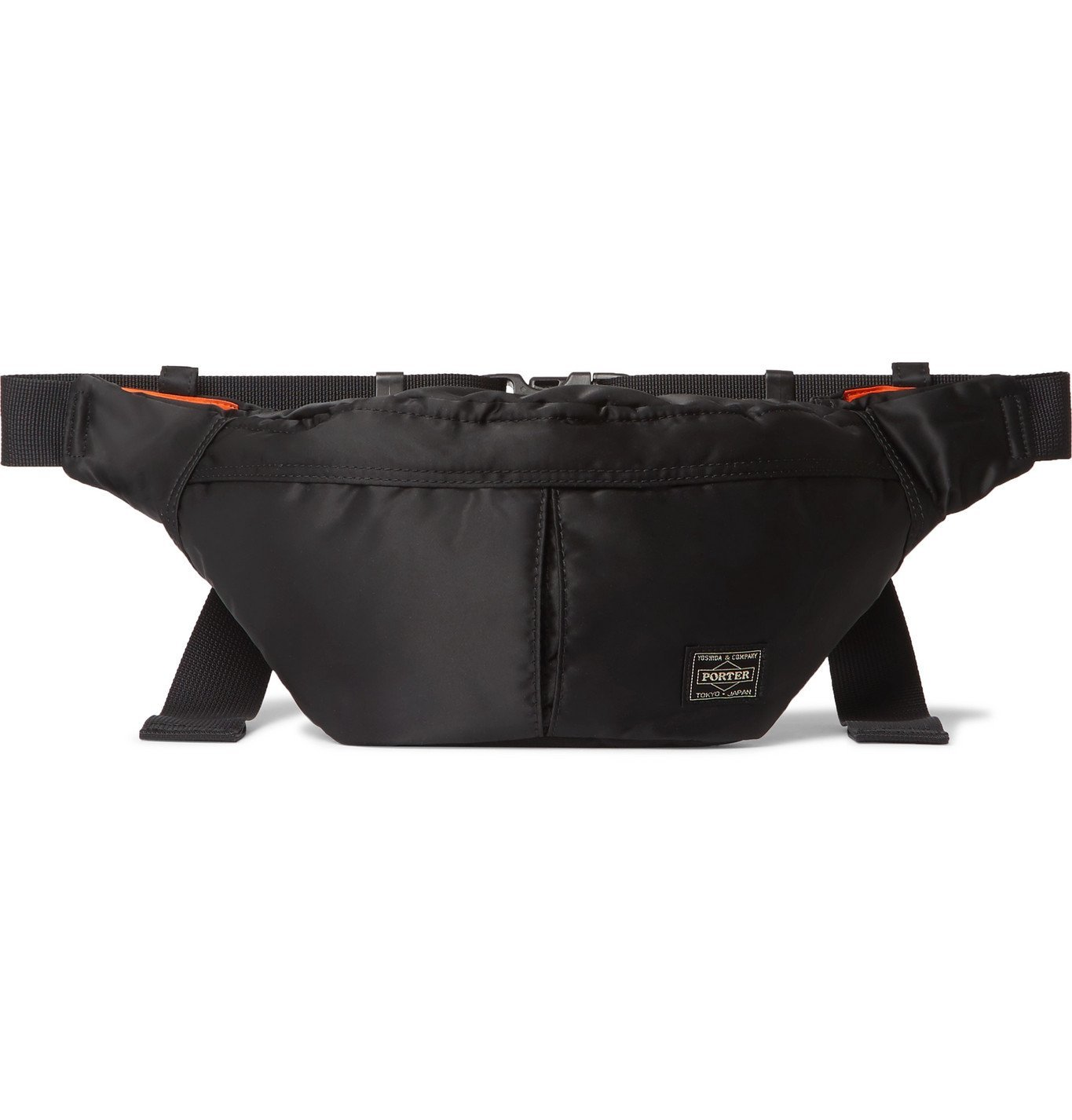 Photo: Porter-Yoshida & Co - Tanker Padded Shell Belt Bag - Black