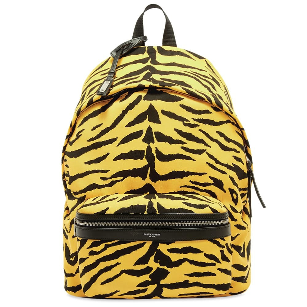 Photo: Saint Laurent Zebra City Backpack
