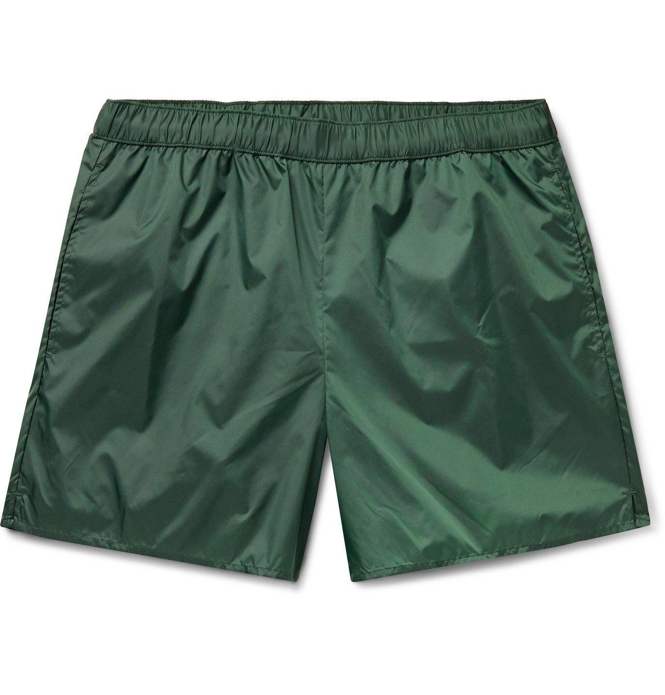 Photo: Acne Studios - Warrick Slim-Fit Mid-Length Swim Shorts - Green