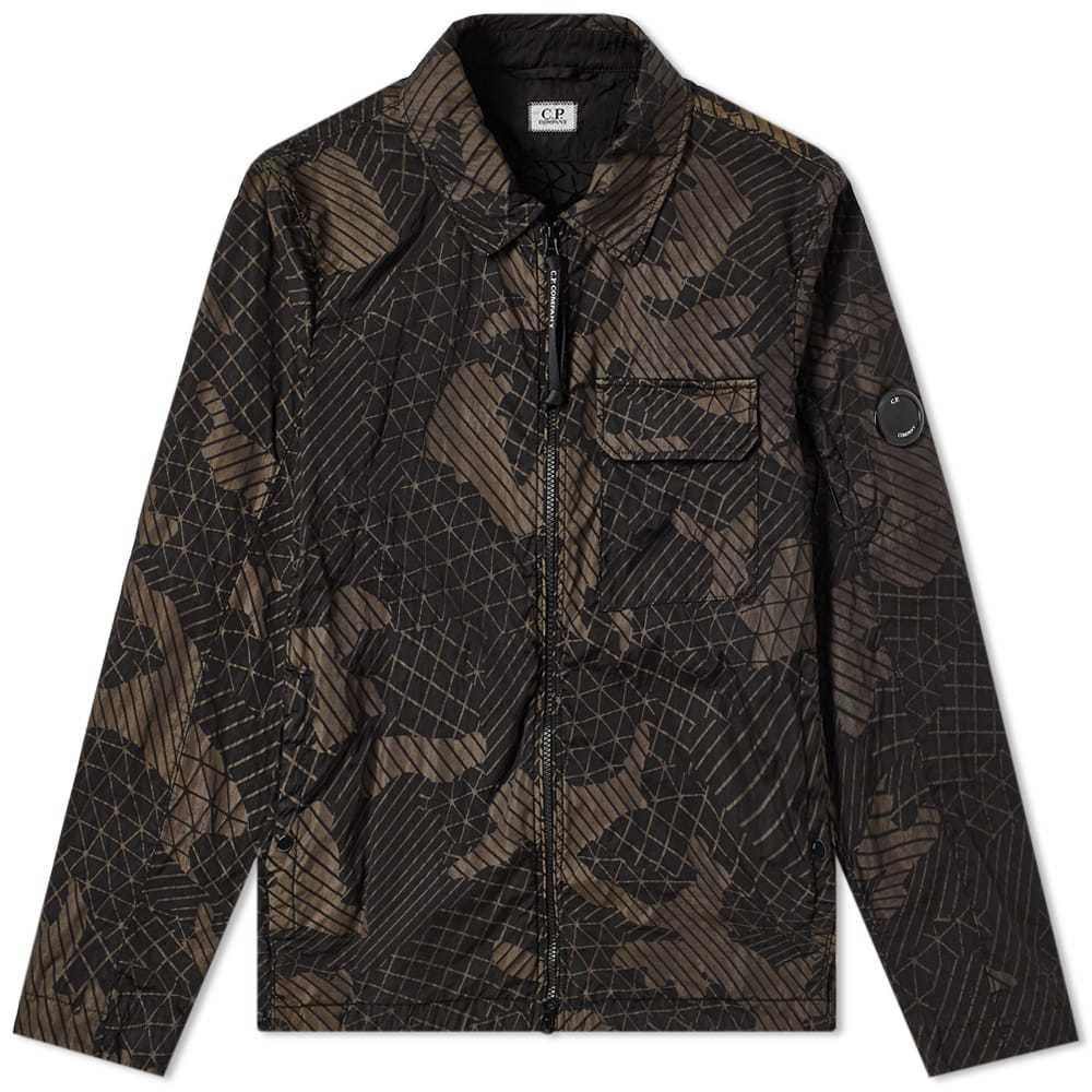 C.P. Company Camo Net Arm Lens Shirt Jacket