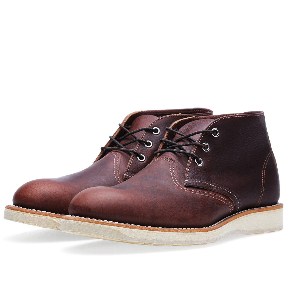 Photo: Red Wing 3141 Heritage Work Chukka Brown