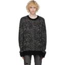 Ksubi Black Distortion Sweater