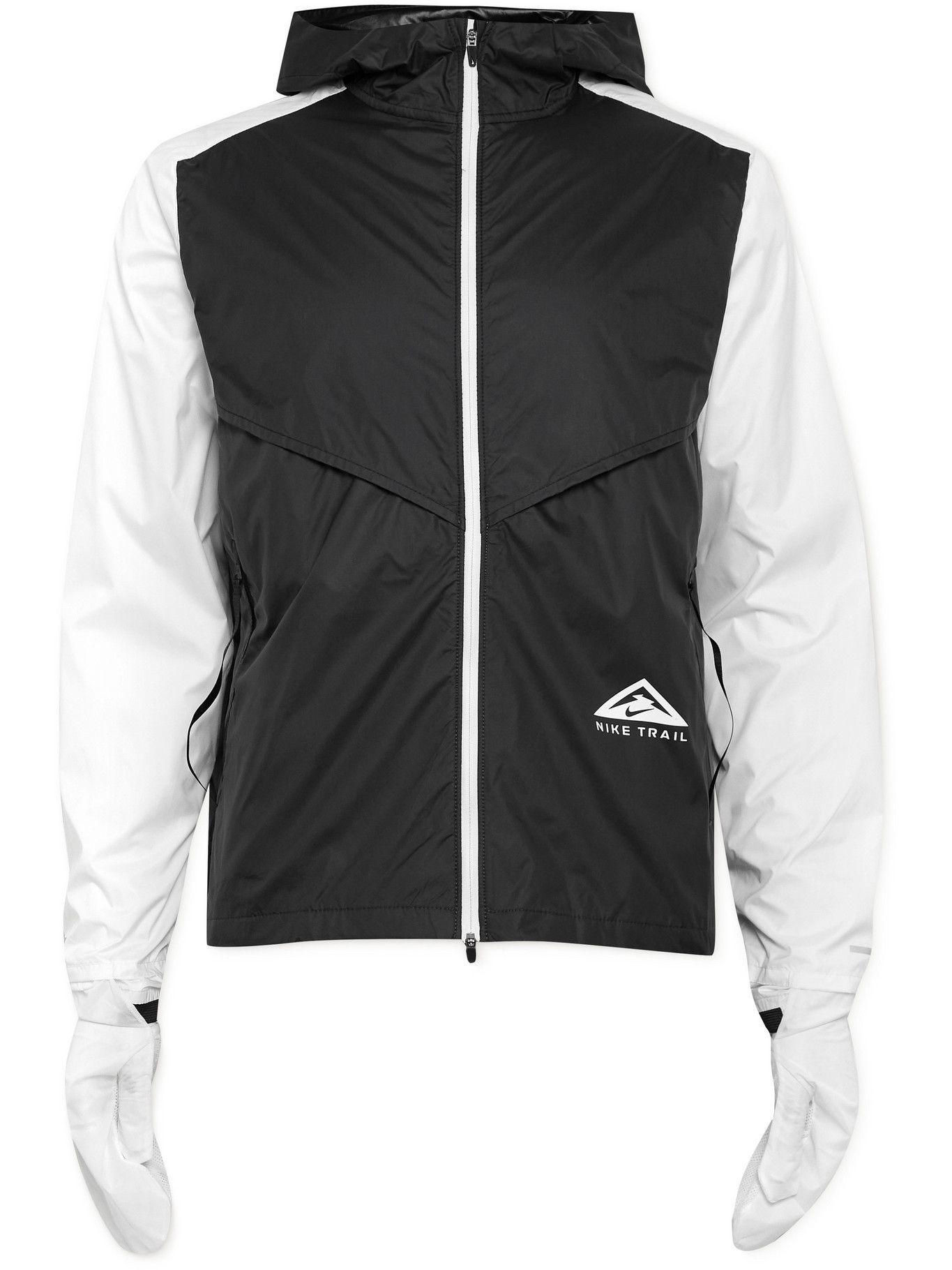 Photo: Nike Running - Packable Windrunner Shell Hooded Jacket - Black