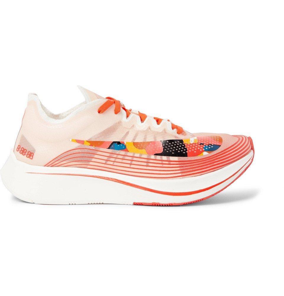 Nike Running - Zoom Fly SP Ripstop Sneakers - Men - Orange
