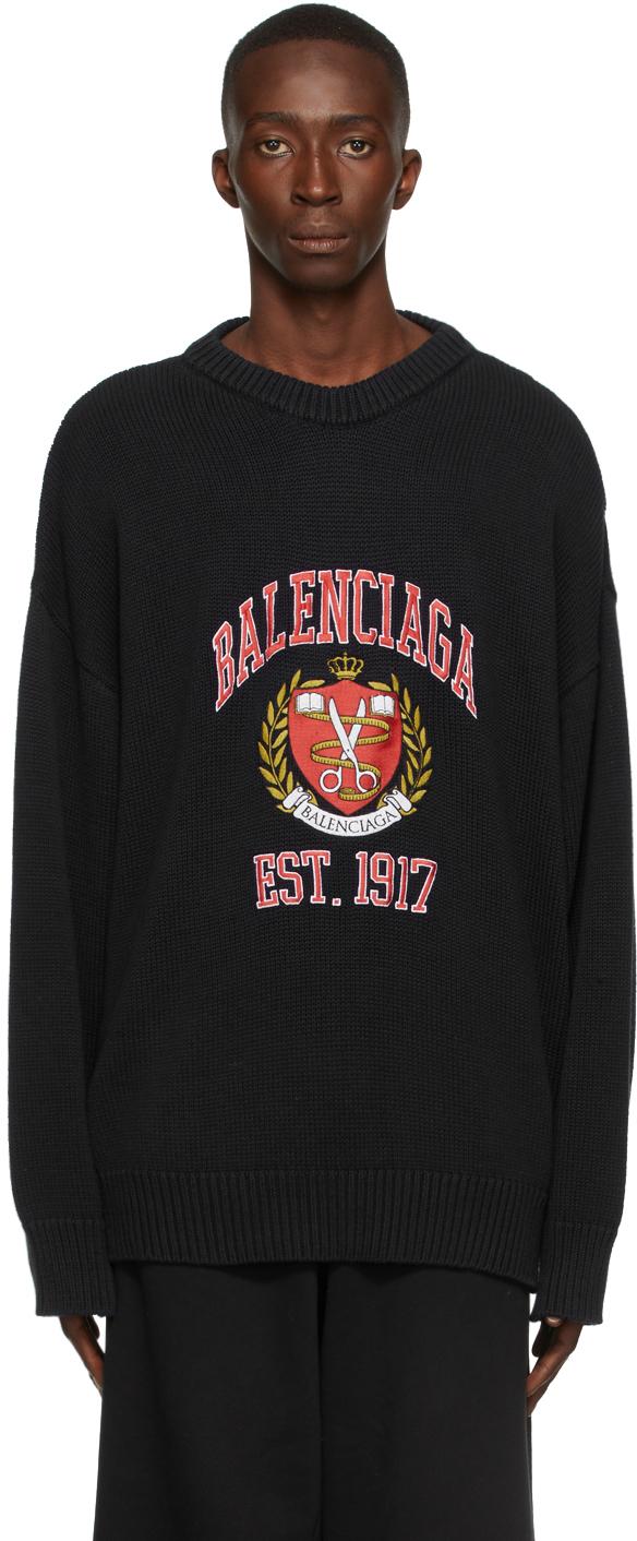 Photo: Balenciaga Knit Logo Sweatshirt