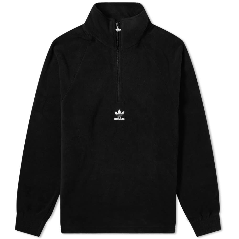 Photo: Adidas Trefoil Half Zip Fleece