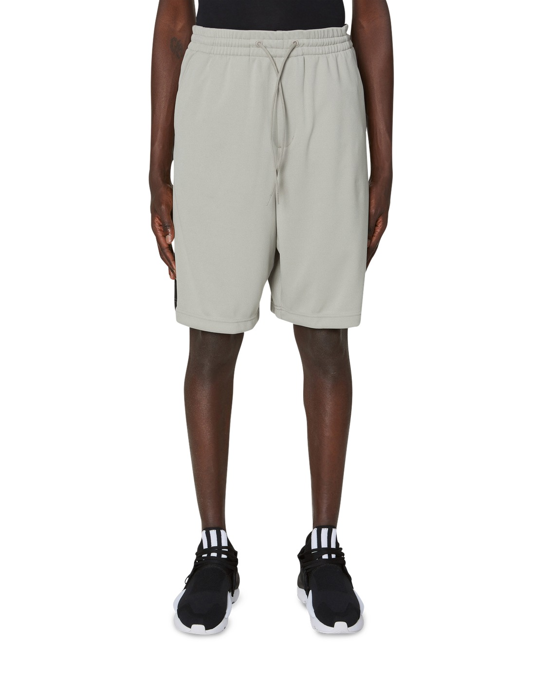 Photo: Y 3 3 Stripes Track Shorts Salty Champagne