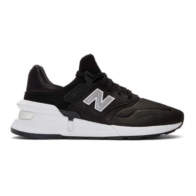 Photo: Comme des Garcons Homme Black New Balance Edition MS997 Sneakers
