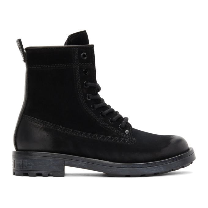 Photo: Diesel Black D-Throuper DBB ZC Boots