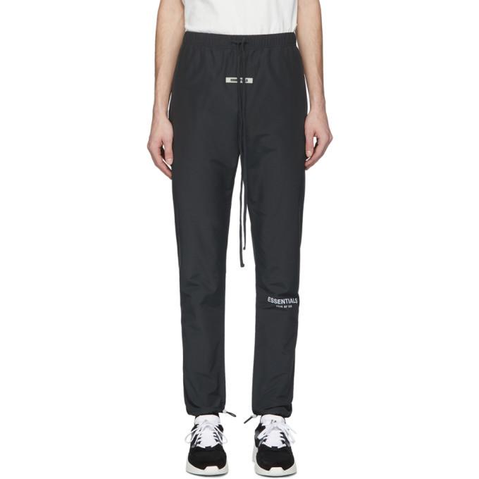 Photo: Essentials Black Canvas Lounge Pants