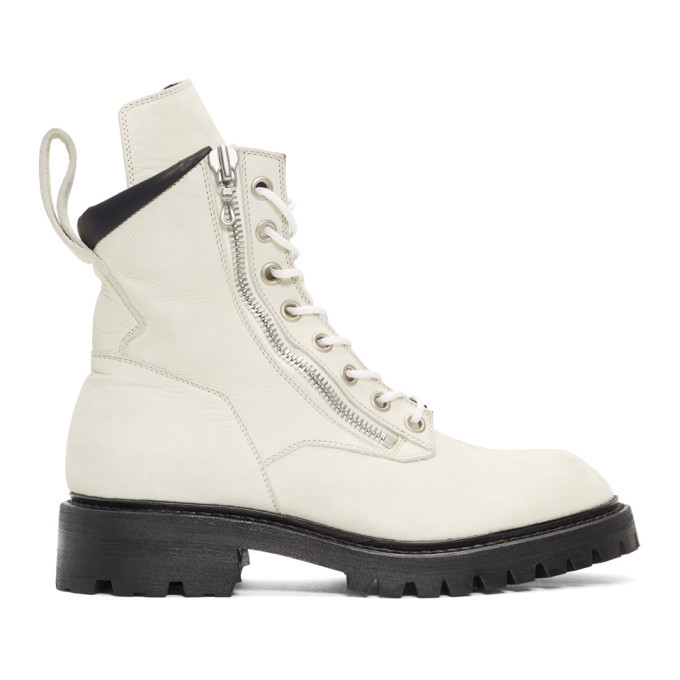 Photo: Julius Off-White Combat Boots