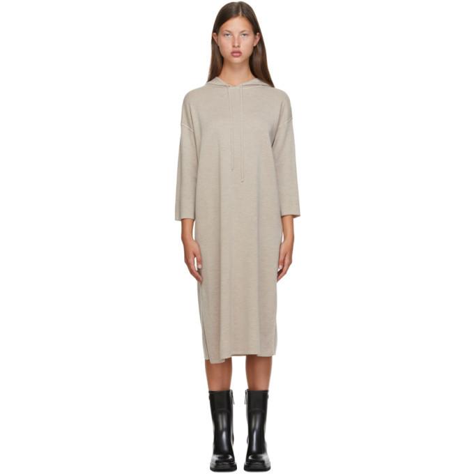 Max Mara Beige Wool Lerici Dress