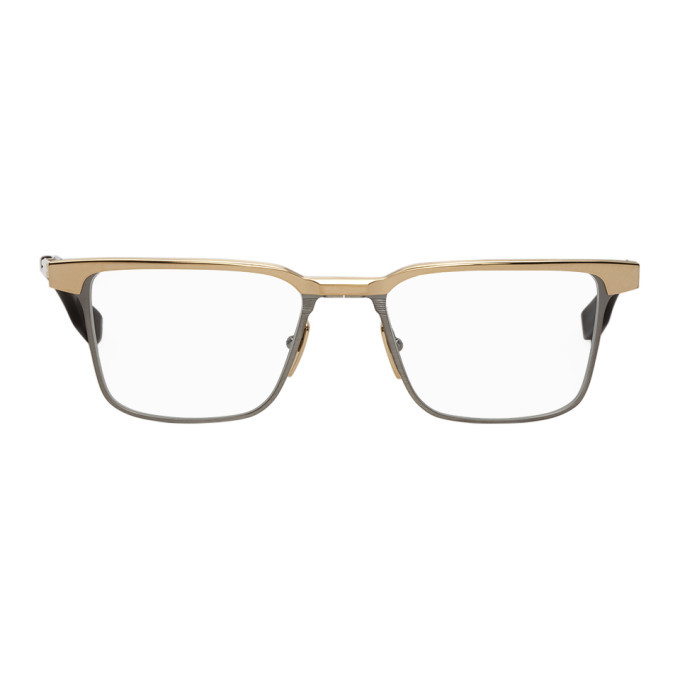 Photo: Dita Gold and Silver Senator-Three Glasses