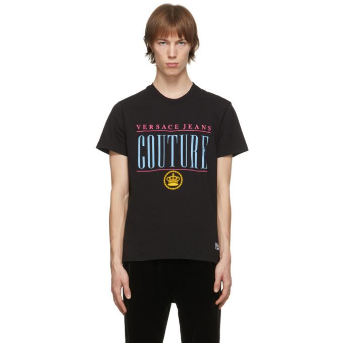 Photo: Versace Jeans Couture Black Vintage Logo T-Shirt