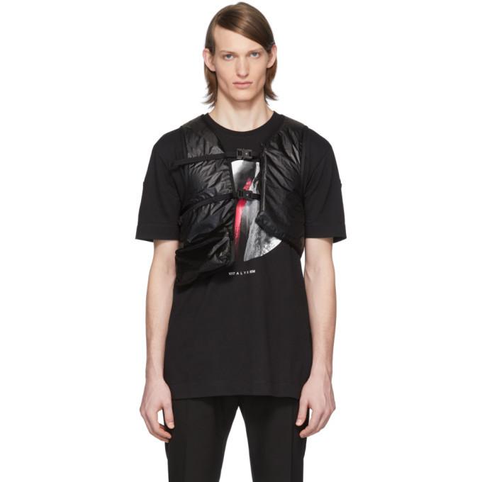 Photo: Moncler Genius 6 Moncler 1017 ALYX 9SM Black Hand Warmer Vest
