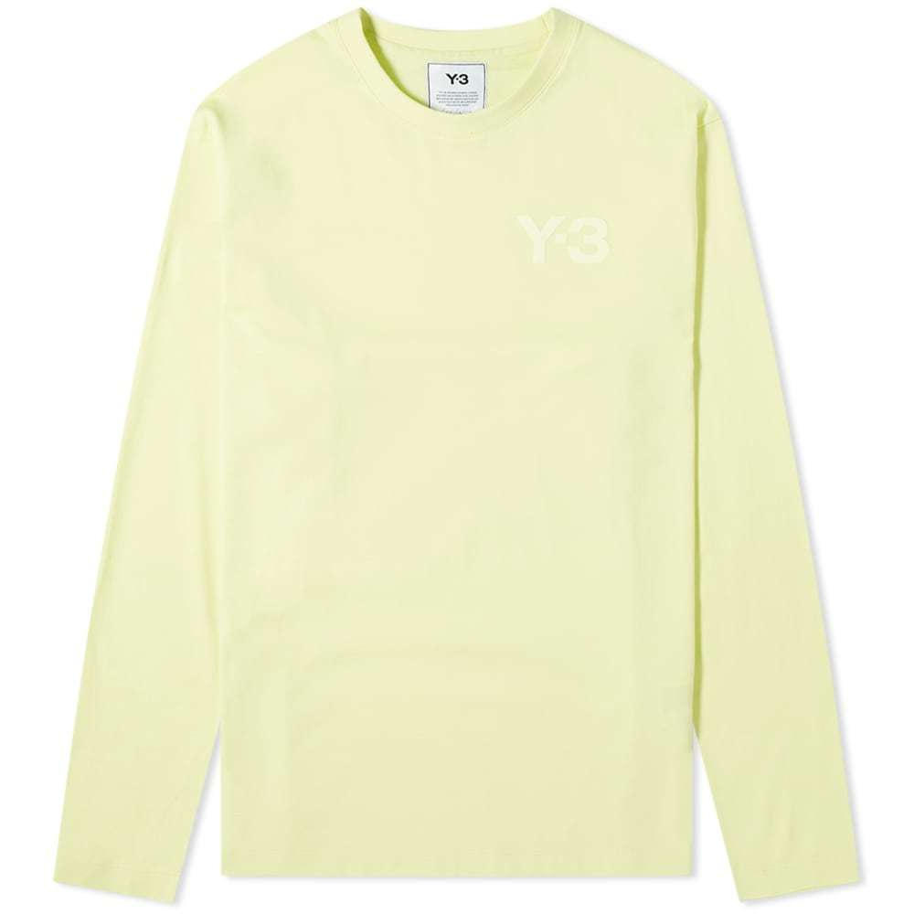 Photo: Y-3 Long Sleeve Classic Chest Logo Tee