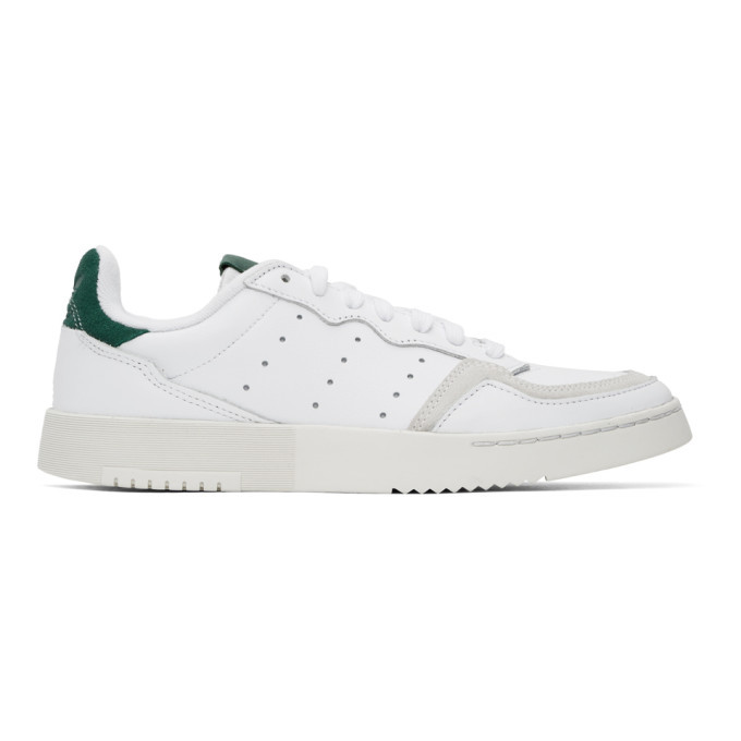 Photo: adidas Originals White Supercourt Sneakers