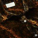 Aries - Printed Velvet Shirt - Black