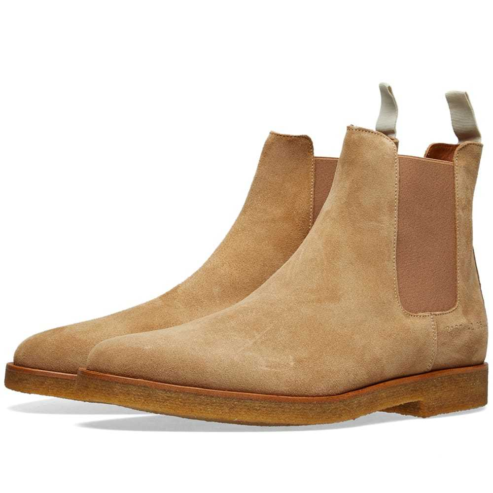 Photo: Common Projects Chelsea Boot Suede