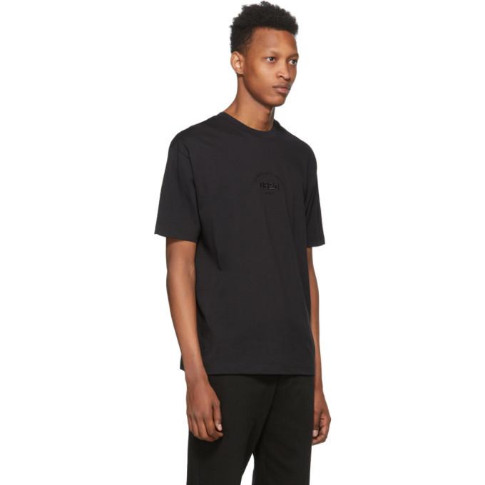 032c Black Embroidered Logo T-Shirt