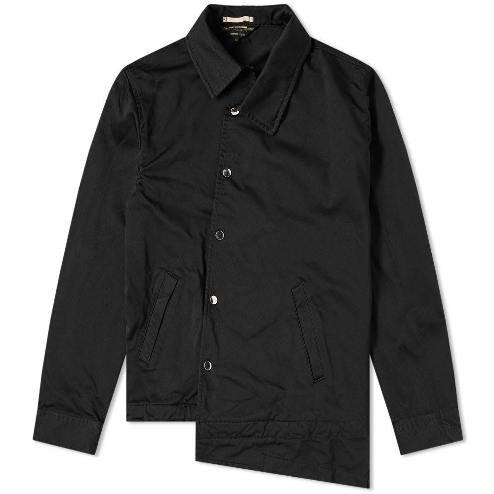 Comme des Garcons Homme Plus Asymetric Coach Jacket Black