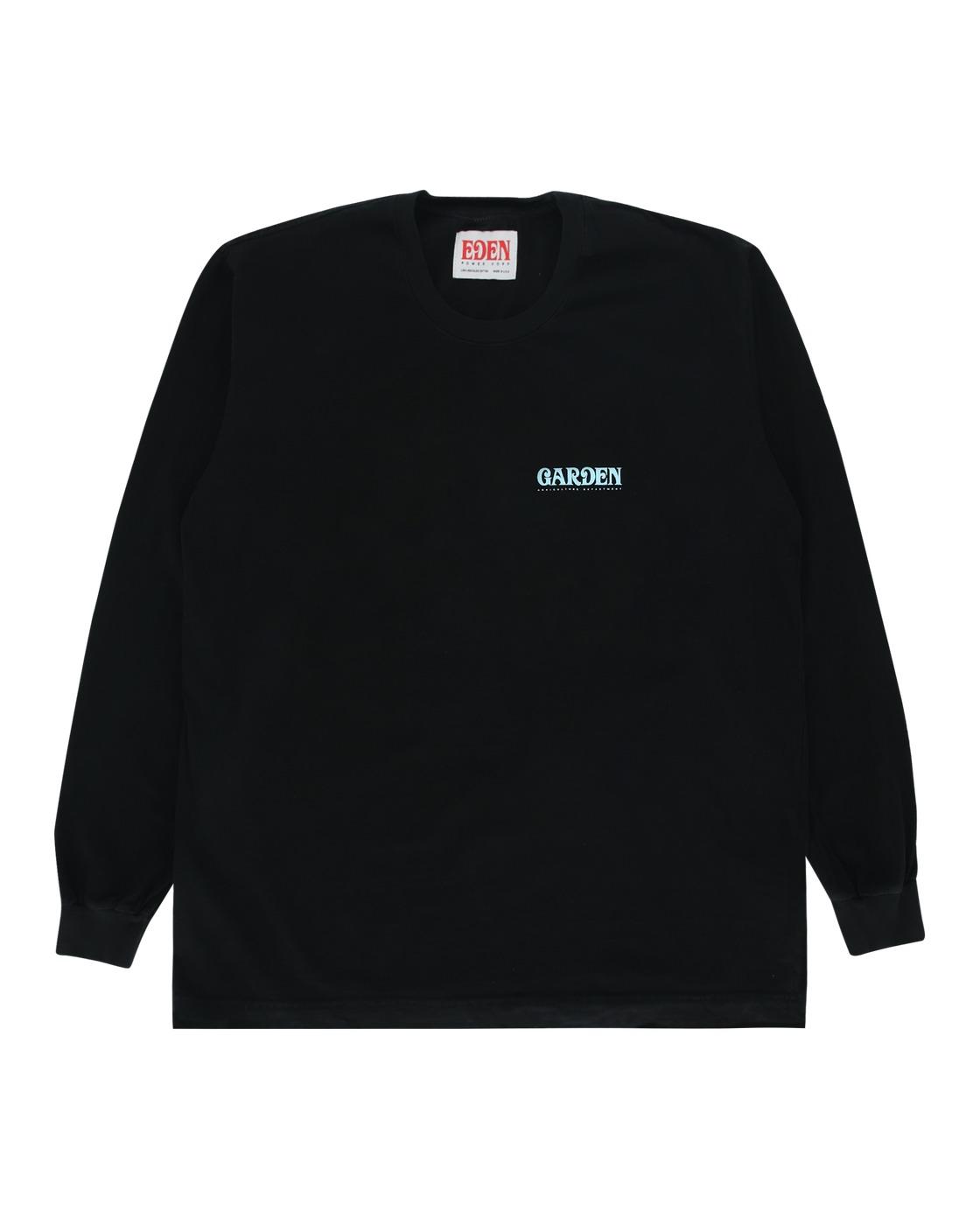 Eden Power Corp Garden Recycled Longsleeve T Shirt Black