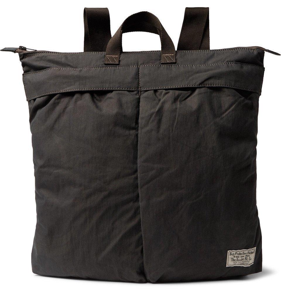 RRL - Helmet Shell Convertible Tote Bag - Men - Black