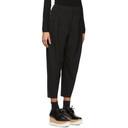 Stella McCartney Black Wool Stretch Cocoon Trouser
