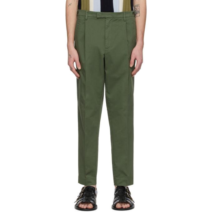 Photo: Barena Khaki Masco Stino Trousers