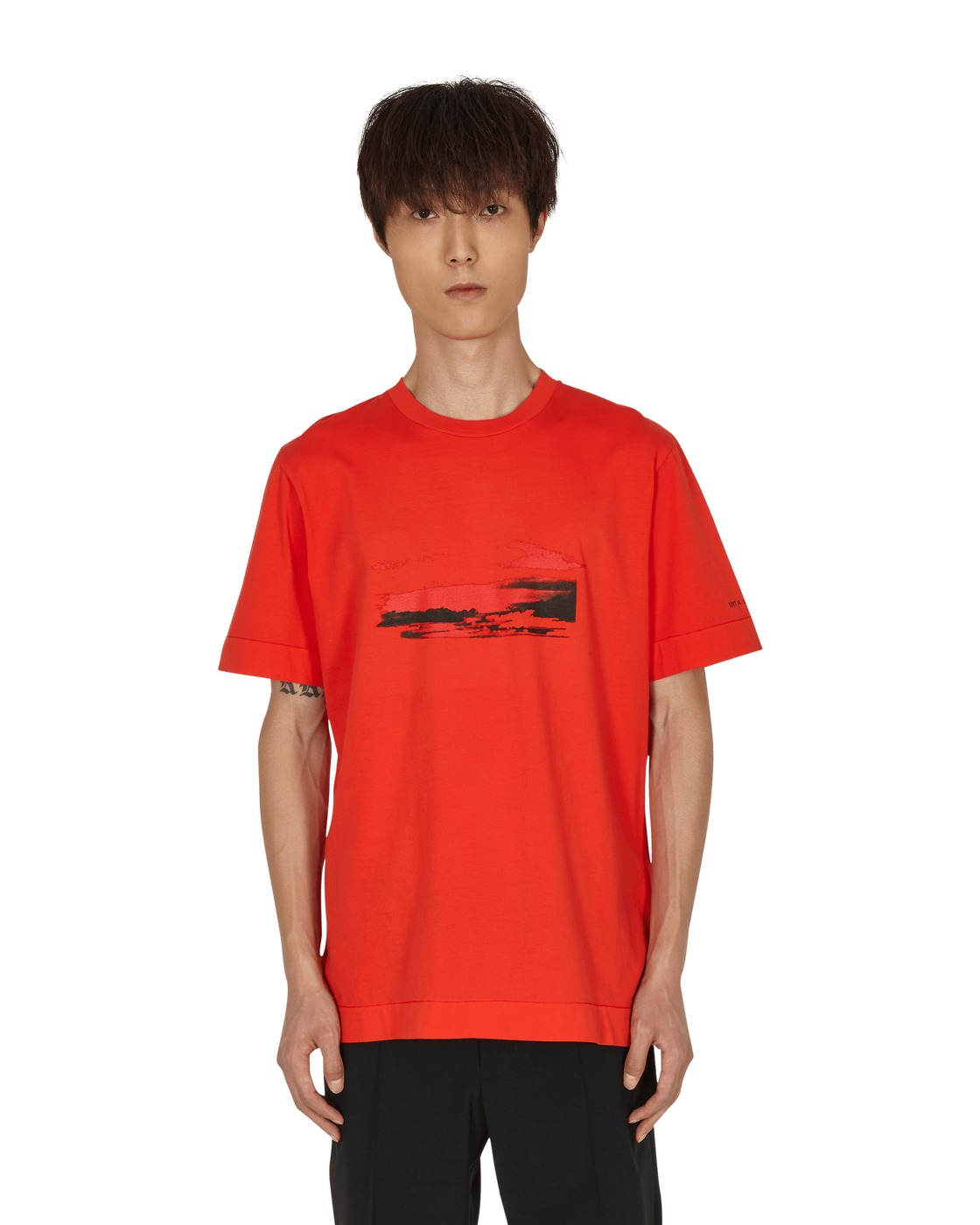 Photo: 1017 Alyx 9sm Infared T Shirt Classic Red