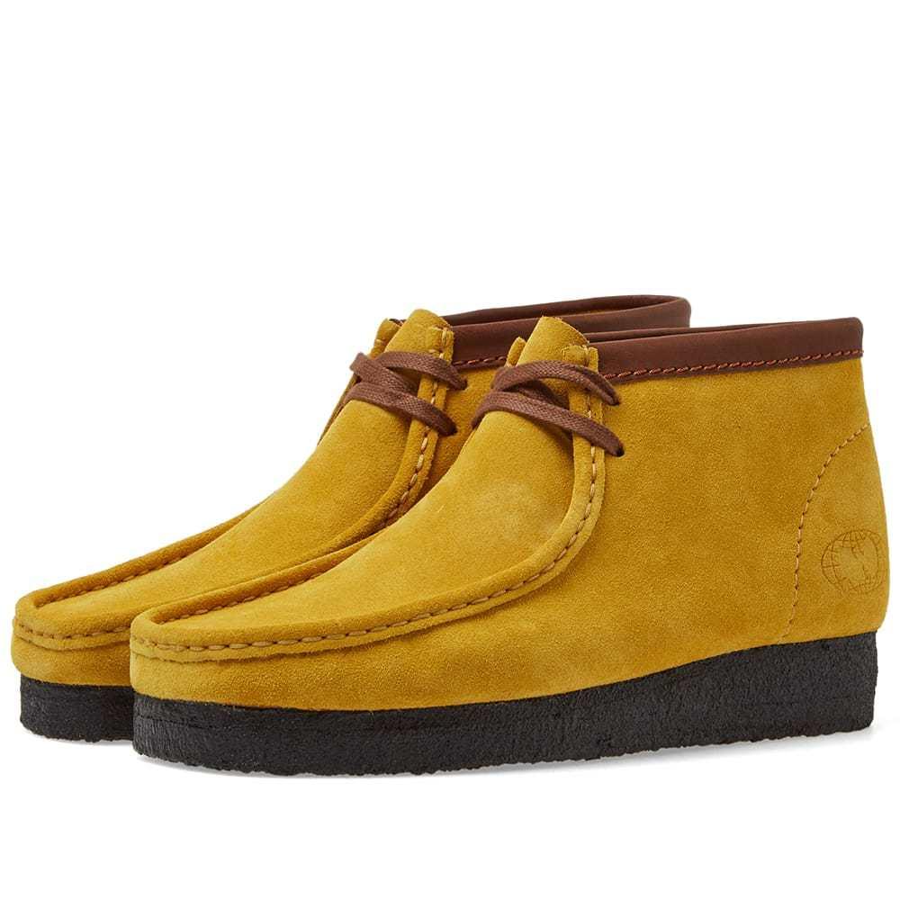 Photo: Clarks Originals x Wu Wear Wallabee Boot