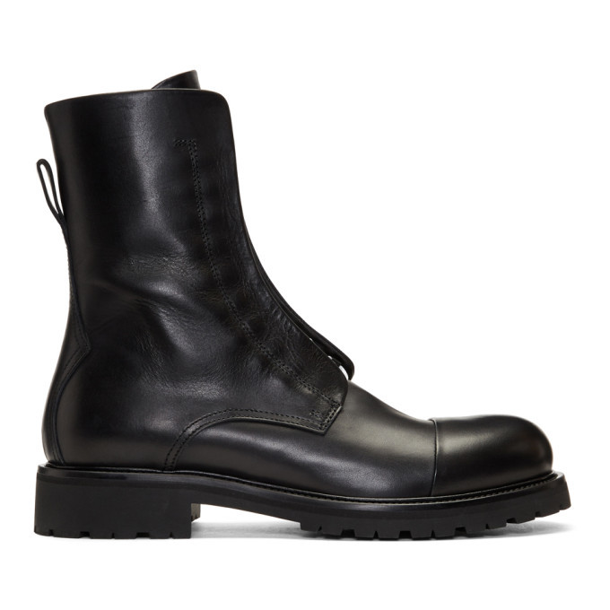 Photo: Belstaff Black Huntscott Boots