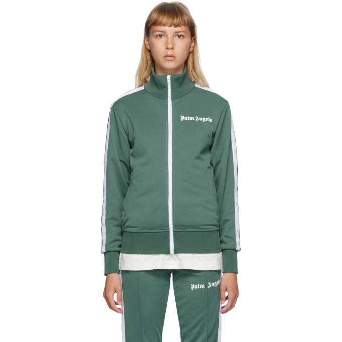 Photo: Palm Angels Green Classic Track Jacket