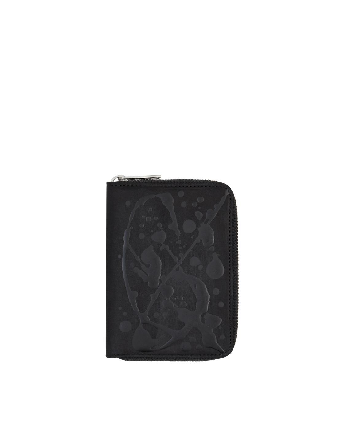 Photo: Maison Margiela Mini Zip Wallet Black/Paint