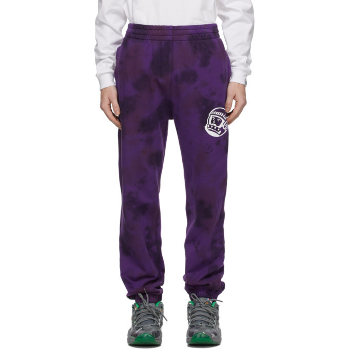 Photo: Billionaire Boys Club Purple Tie-Dye Sweatpants