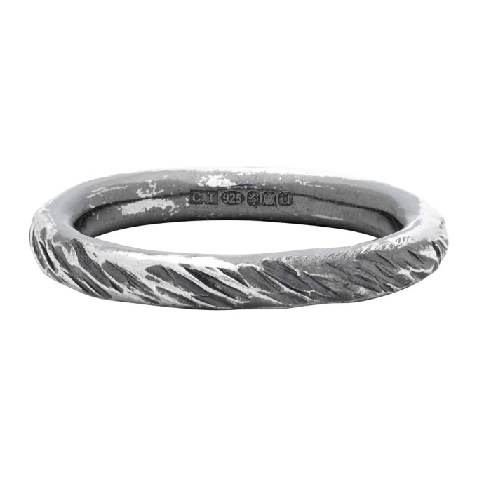 Photo: Chin Teo Silver Transmission Scarred Ring