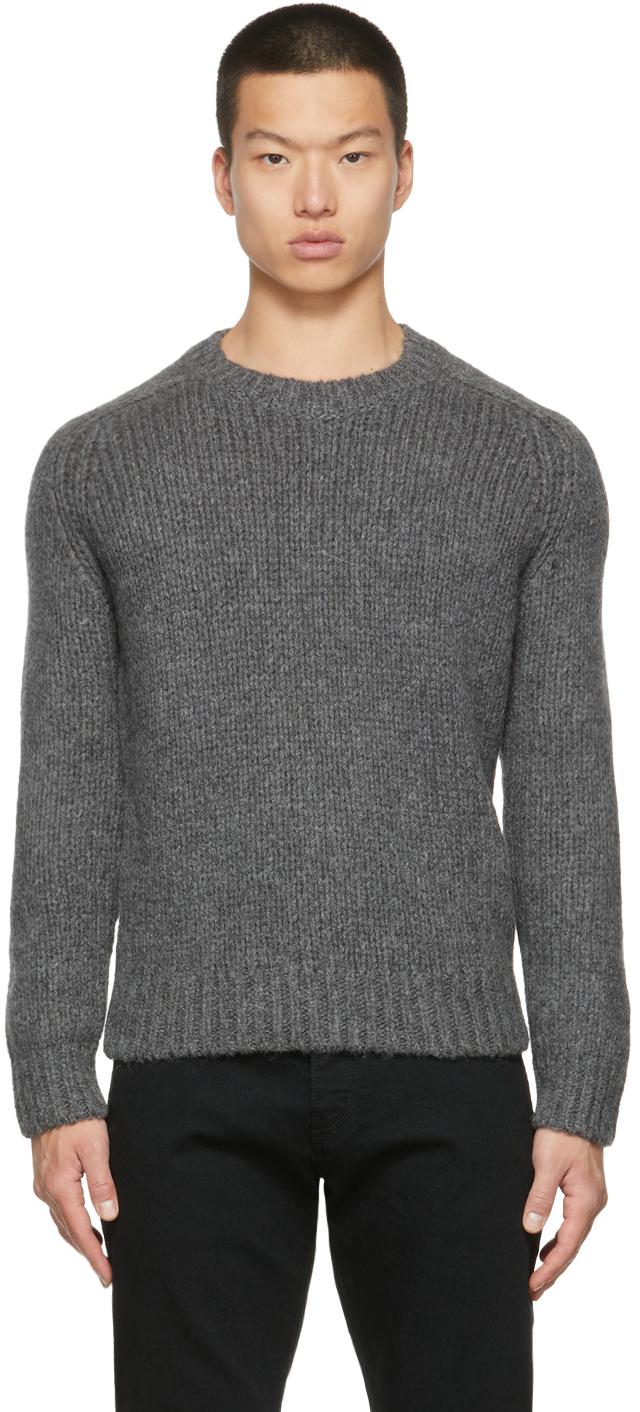 Photo: Saint Laurent Alpaca Knit Sweater