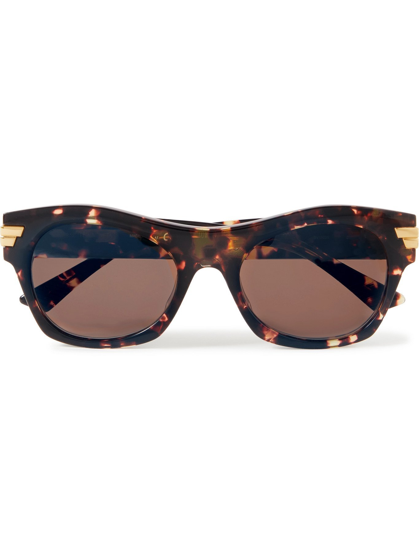 Photo: BOTTEGA VENETA - D-Frame Acetate Sunglasses - Brown