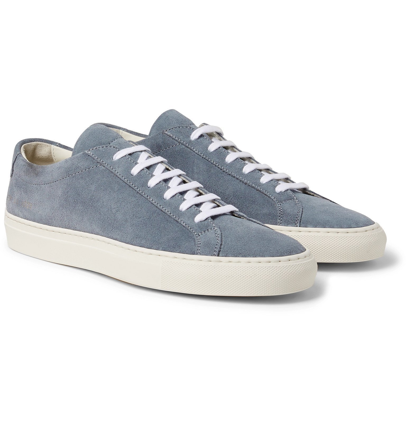 Photo: Common Projects - Original Achilles Suede Sneakers - Blue