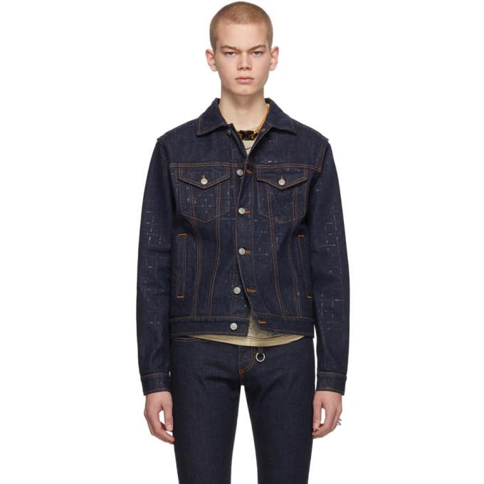 Photo: 1017 ALYX 9SM Blue Denim Classic Jacket
