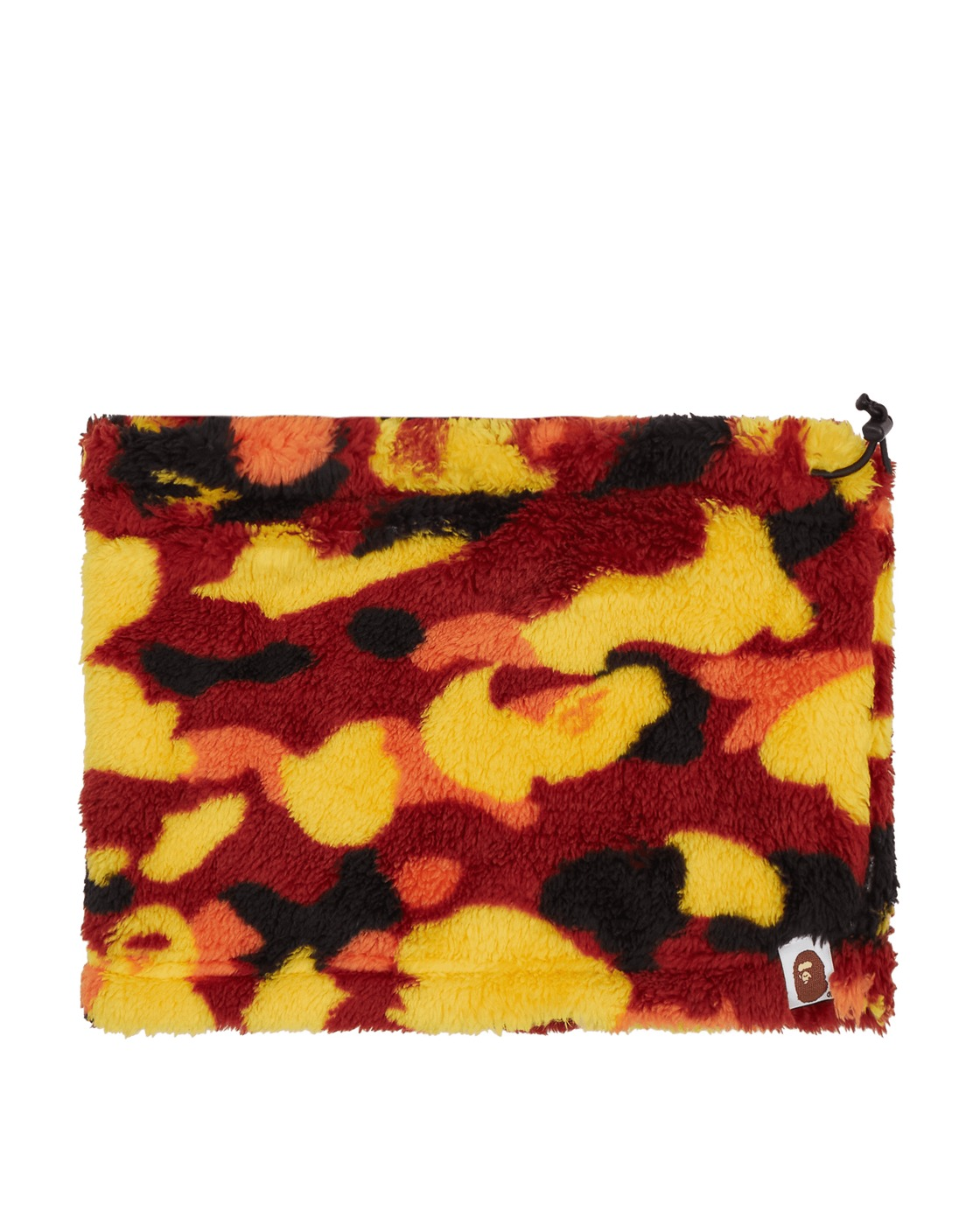 Photo: A Bathing Ape 1st Camo Boa Neck Warmer Orange