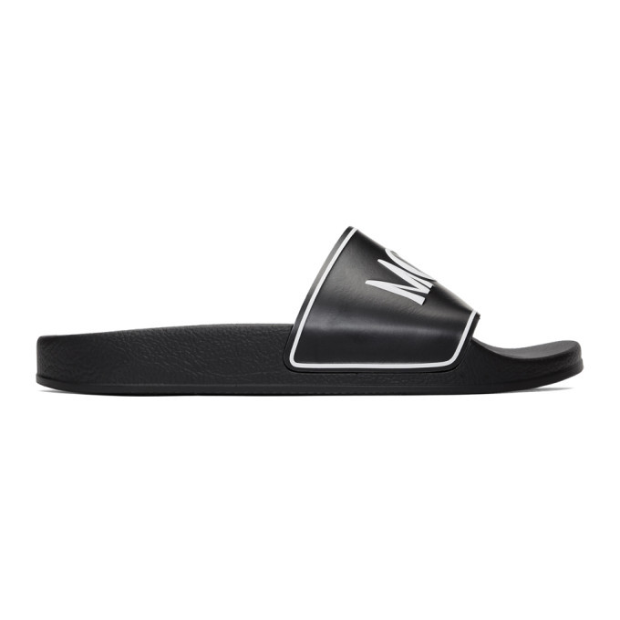 Photo: McQ Alexander McQueen Black and White Infinity Slides